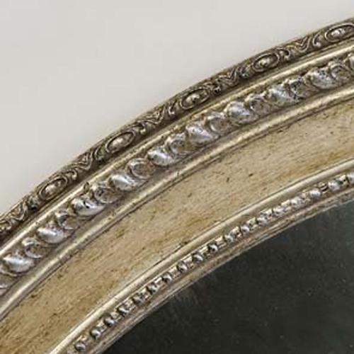 golden mirror frame finish